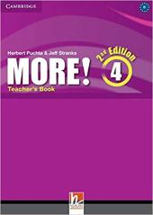 More! (2nd Edition) Level 4 Teacher's Book - фото обкладинки книги