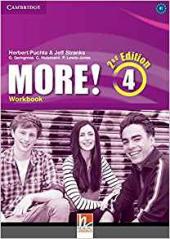 More! (2nd Edition) Level 4 Workbook - фото обкладинки книги