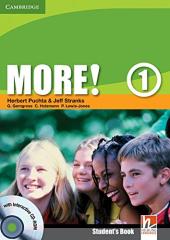 More! Level 1 Student's Book with Interactive CD-ROM - фото обкладинки книги