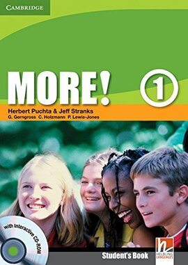 More! Level 1 Student's Book with Interactive CD-ROM - фото книги