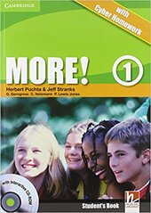 More! Level 1 Student's Book with Interactive CD-ROM with Cyber Homework - фото обкладинки книги