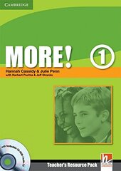 More! Level 1 Teacher's Resource Pack with Testbuilder CD-ROM/Audio CD - фото обкладинки книги