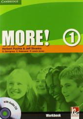 More! Level 1 Workbook with Audio CD - фото обкладинки книги