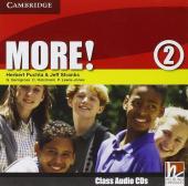 More! Level 2 Class Audio Cds - фото обкладинки книги