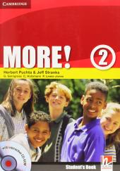 More! Level 2 Student's Book with Interactive CD-ROM - фото обкладинки книги