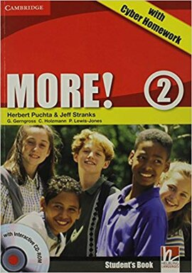 More! Level 2 Student's Book with Interactive CD-ROM with Cyber Homework - фото книги