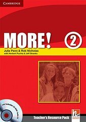 More! Level 2 Teacher's Resource Pack with Testbuilder CD-ROM/Audio - фото обкладинки книги