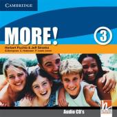More! Level 3 Class Audio Cds - фото обкладинки книги