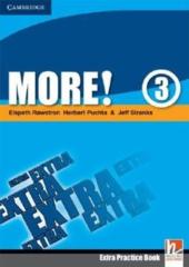 More! Level 3 Extra Practice Book - фото обкладинки книги