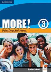 More! Level 3 Student's Book with Interactive CD-ROM - фото обкладинки книги