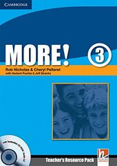 More! Level 3 Teacher's Resource Pack with Testbuilder CD-ROM/Audio CD - фото обкладинки книги