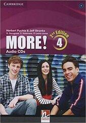 More! Level 4 Audio CDs (3) - фото обкладинки книги