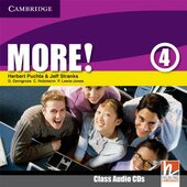 More! Level 4 Class Audio Cds - фото обкладинки книги