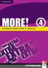 More! Level 4 Extra Practice Book - фото обкладинки книги