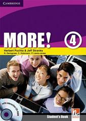 More! Level 4 Student's Book with Interactive CD-ROM - фото обкладинки книги