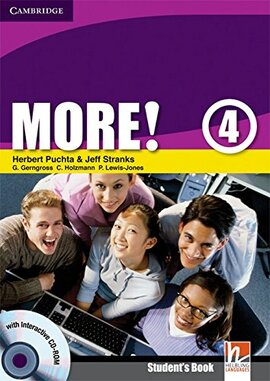 More! Level 4 Student's Book with Interactive CD-ROM - фото книги