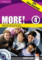 More! Level 4 Student's Book with Interactive CD-ROM with Cyber Homework - фото обкладинки книги