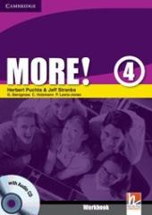 More! Level 4 Workbook with Audio CD - фото обкладинки книги