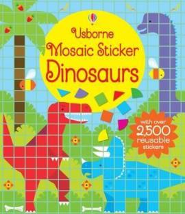Mosaic Sticker. Dinosaurs - фото книги