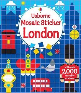 Mosaic Sticker. London - фото книги