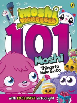 Moshi Monsters: 101 Things to Make and Do - фото книги