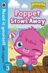 Moshi Monsters: Poppet Stows Away - Read it yourself with Ladybird : Level 3 - фото обкладинки книги