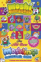 Moshi Monsters: The All-New Moshlings Collector's Guide - фото обкладинки книги