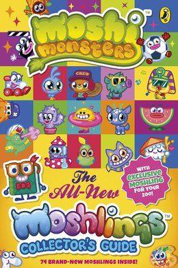 Moshi Monsters: The All-New Moshlings Collector's Guide - фото книги