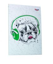 """Music note dog"" А5 - фото обкладинки книги"