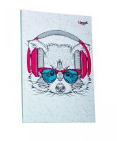 """Music note raccoon"" А5 - фото обкладинки книги"