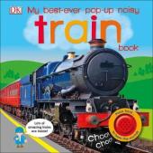 My Best-Ever Pop-Up Noisy Train Book - фото обкладинки книги