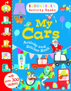 My Cars Activity and Sticker Book - фото книги