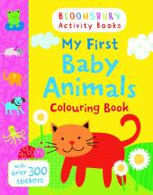 My First Baby Animals Colouring Book - фото обкладинки книги