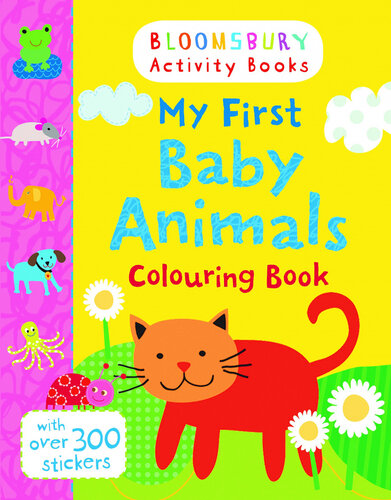 Книга My First Baby Animals Colouring Book