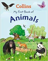 My First Book of Animals - фото обкладинки книги
