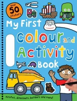 My First Colour and Activity Books: Blue - фото книги