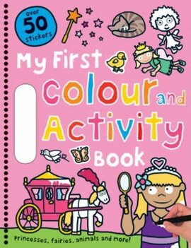 My First Colour and Activity Books: Pink - фото книги