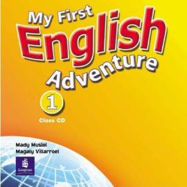 My First English Adventure 1 Class CD (аудіодиск) - фото книги
