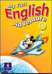 My First English Adventure 1 DVD (відеодиск) - фото обкладинки книги