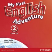 My First English Adventure 2 Class CD (аудіодиск) - фото обкладинки книги