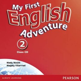 My First English Adventure 2 Class CD (аудіодиск) - фото книги