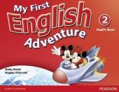 My First English Adventure 2 Student Book - фото обкладинки книги