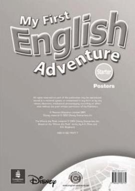 My First English Adventure Starter Posters (плакати) - фото книги