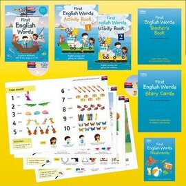 My First English Words. Activity Pack: Age 3-7 - фото книги