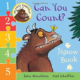 My First Gruffalo: Can You Count? Jigsaw book - фото книги