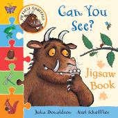 My First Gruffalo: Can You See? Jigsaw Book - фото обкладинки книги