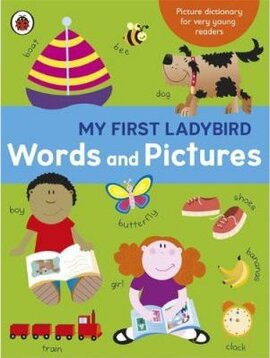 My First Ladybird Words and Pictures - фото книги