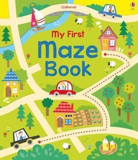 My First Maze Book - фото книги