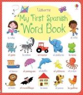 My First Spanish Word Book - фото обкладинки книги