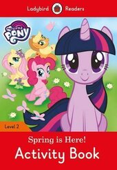 My Little Pony: Spring is Here! Activity Book - Ladybird Readers Level 2 - фото обкладинки книги